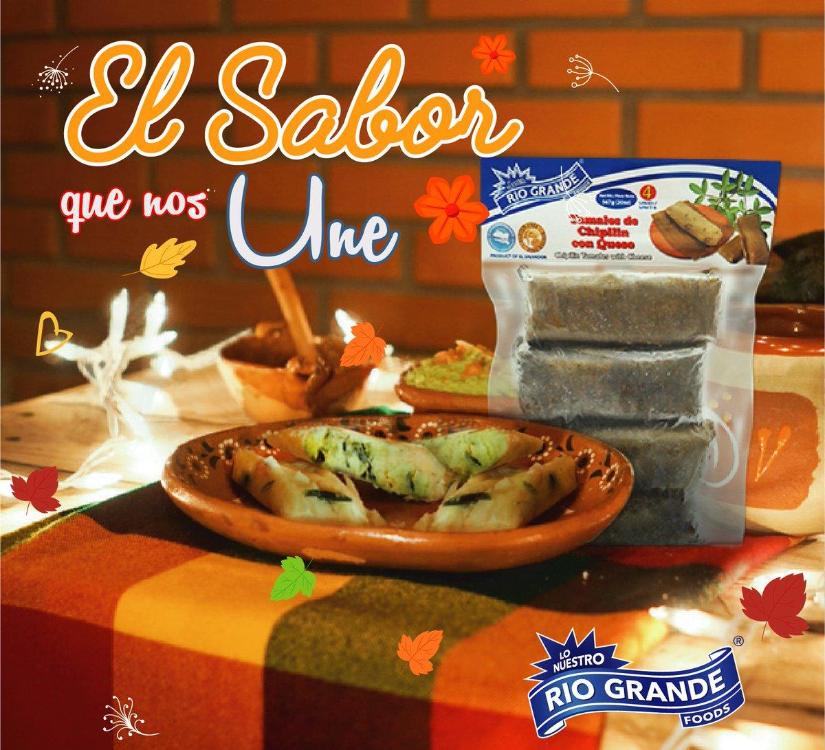 Somos el sabor de tus platillos, disfruta del riquísimo sabor de la del tamal de chipilín con queso  que solo Río Grande Foods trae para ti.   #ThanksGivingALoSalvadoreño  #elsaborquenosune  #manosexpertas  #elsabordemitierra   #saboresfrescos  #saborescontradicion