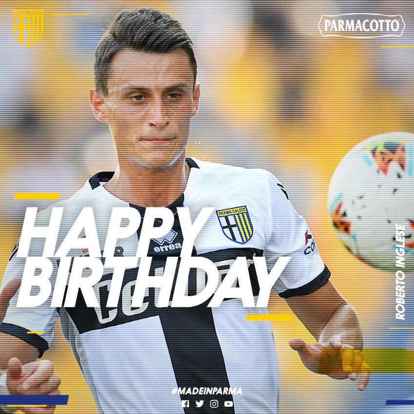 #CompleanniCrociati Tanti auguri a Roberto #Inglese, che oggi compie 28 anni! 🎂💛💙 #NextchApter #ForzaParma
