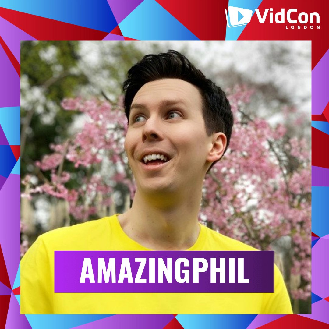.@AmazingPhil, that's who! Get your tickets to see him IRL at #VidConLDN!http://bit.ly/2K1atsI