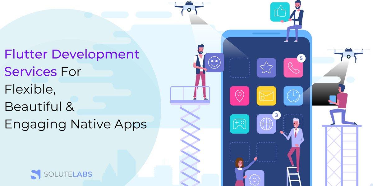 Flutter, Flutter, Flutter!What is #Flutter?Why everyone wants to get their #app developed using Flutter?Because, we do this -> http://bit.ly/flutter_app#SoluteLabs #flutterapp #flutterdev #appdevelopmentcompany  #appdevelopment #google #appdev #appdesign