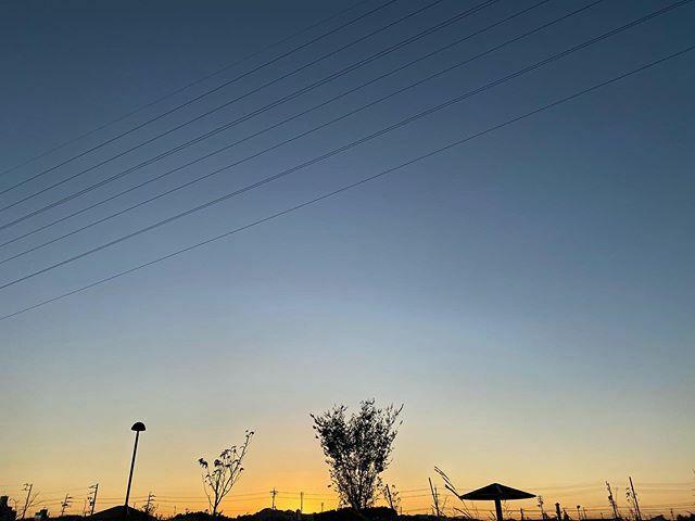 沈みたてのほやほや  #夕焼け #夕焼 #夕空 #sunset #イマソラ #いまそら #ノンフィルター #ノーフィルター #空 #そら #sky