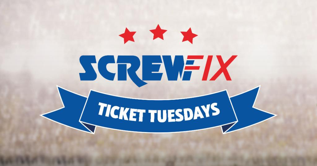 Its #ScrewfixTicketTuesday the chance for you to win tickets to your chosen @EFL game EVERY TUESDAY! To apply for tickets visit spr.ly/60141MmRM T&Cs apply. spr.ly/60151MmR3