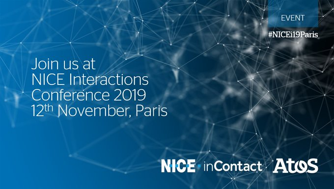 We are excited to be part of NICE Interactions Conference 2019. Don't miss our...