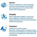 Image for the Tweet beginning: Secure payments, Simplify trading Empower