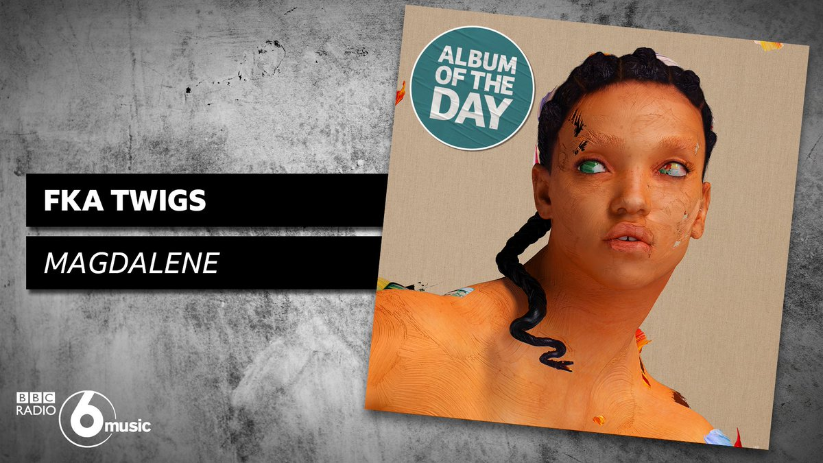 Like a feather carved from a rare stone...   The lithe but heavy Magdalene by @FKAtwigs is like nothing else you'll hear this year and it's our album of the day today.  📺 See her with added ⚔️ this Thurs from 10pm on @BBCLater.