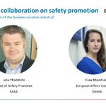 Up next at #SafetySummit19 👉 Safety Promotion is key to the EU Safety Management Strategy, it contributes to ongoing improvements in #aviation #safety. Join us for a session with @EASA and @GAManufacturers experts to improve Safety Promotion in #BusinessAviation 🛩️    #BSafe