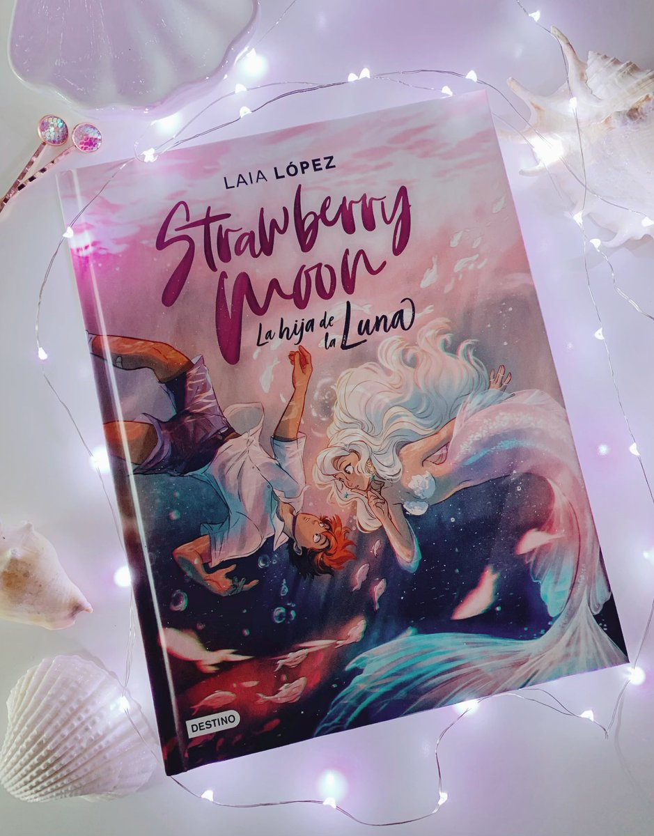 """Laia❄️ on Twitter: """"🍓🌙🧜🏼♀️STRAWBERRY MOON IS OUT TODAY ..."""
