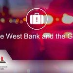 Imagen para el comienzo del Tweet: #Israel, el #WestBank y el
