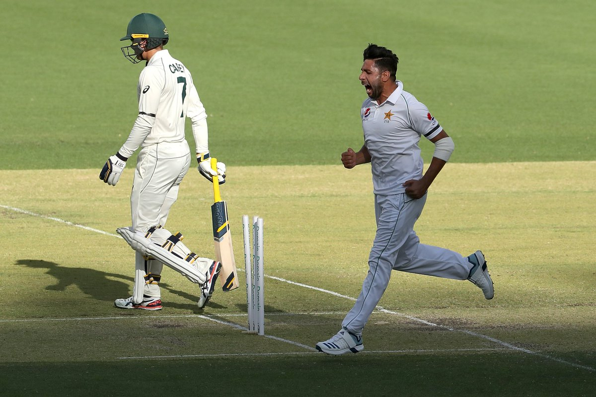 Pakistan lose Azhar Ali as they bat again on final day of 3-Day practice game against Australia A