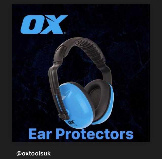 Safety First with these Ear Protectors from @OXtoolsUK Call in store and take a look at the full range #safety #safetyatwork #workwear #builders #gardeners #earprotection <br>http://pic.twitter.com/GKpSAhFFWy