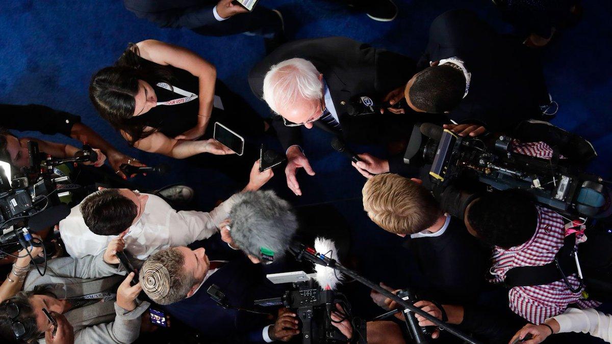 #Bernieblackout: The Media Isn't Even Hiding Its Anti-Bernie Bias Anymore   #InThisTogether #Bernie2020 #UsNotMe #FeelTheBern #ForThePeople #NotForSale #NotAnyBlueWillDo #NoMiddleGround #OurRevolution #WomenForBernie2020 #Women4Justice