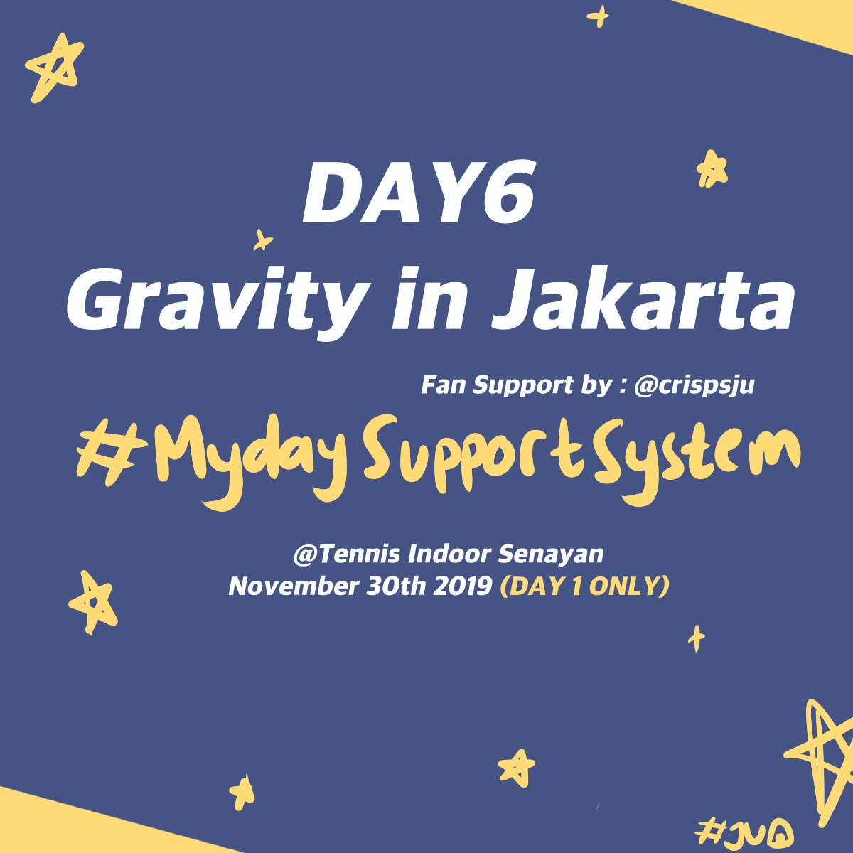 [HELP RT] Day6 Gravity in JKT FanSupport  i will be giving away some free denimalz fanart set on the venue!    Tennis Indoor Senayan  November 30th, 2019   TBA  Limited stock, More details will be updated belowsee you there!  #DAY6  #Day6GravityinJKT #GRAVITYinJKT<br>http://pic.twitter.com/DrxvkNlESJ
