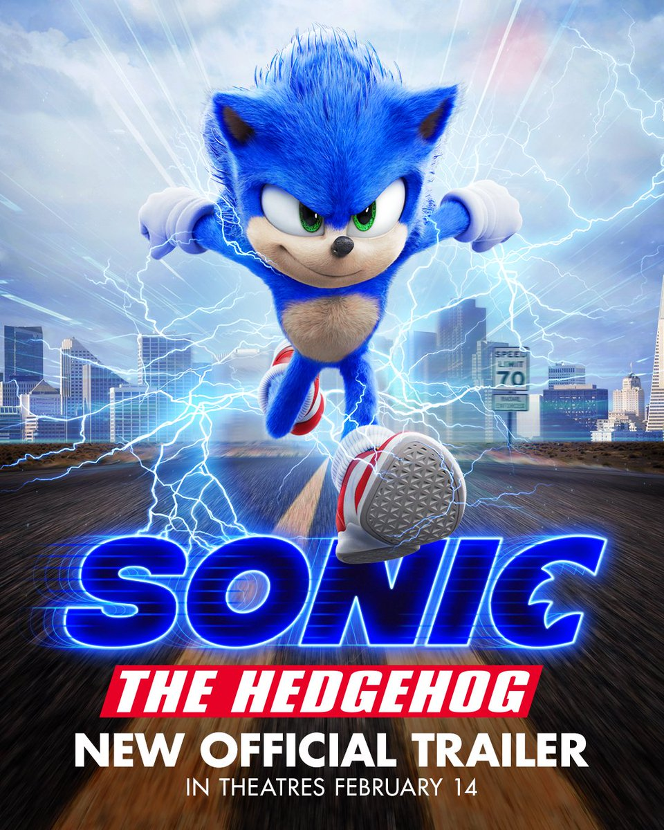 Gotta. Go. Fast! Check out the brand new trailer for #SonicMovie and #CatchSonic in theatres February 14!