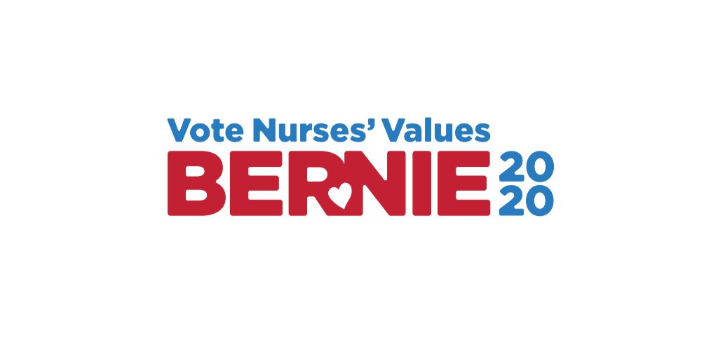 Union nurses are proud to announce that this Friday, we plan to officially endorse @BernieSanders in the Democratic Party presidential primary!  Press release:
