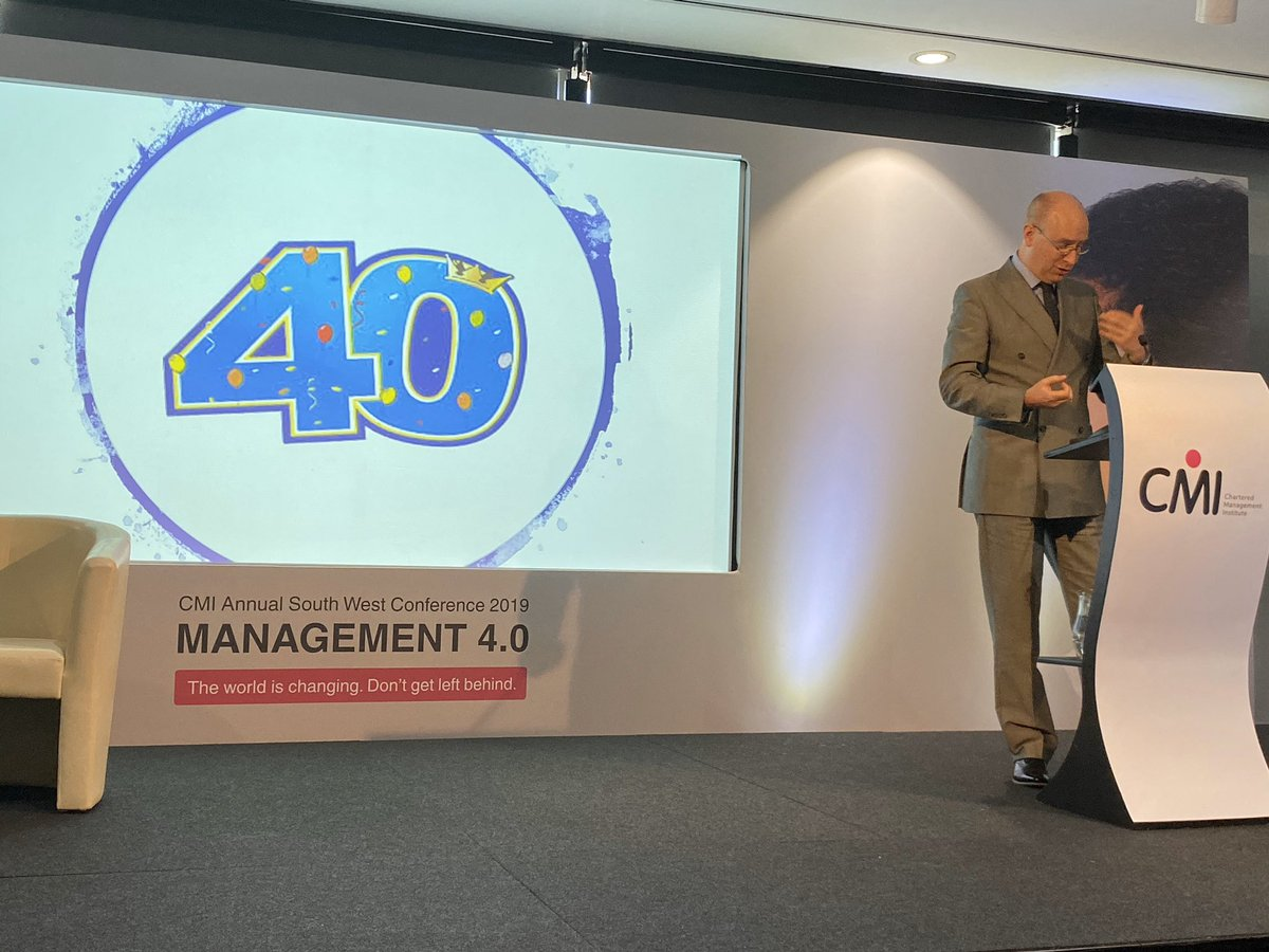 In less than two months millennials start turning 40! Gen Z are the next generation entering the workforce - My degree apprentices are the most hard-working and forward-thinking employees. - Stuart Brocklehurst CCMI @Applegate_B2B #ManagementTransformed