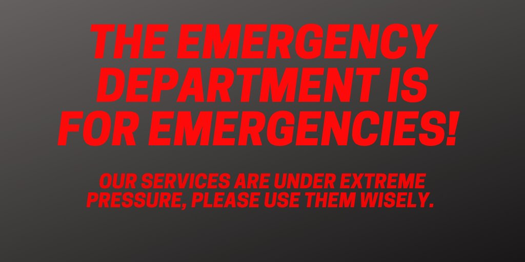 Nhs Lothian On Twitter Our Emergency Department Is Really Busy