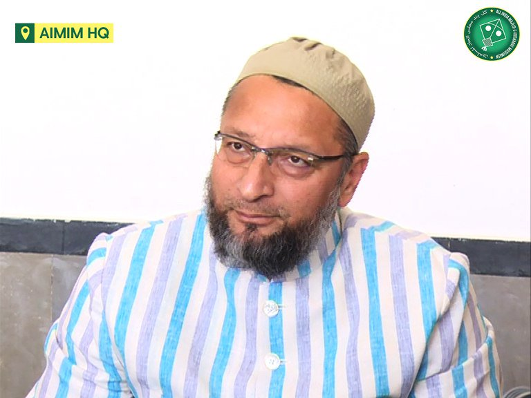 Our fight was for a masjid, not for a 5-acre land. - @asadowaisi