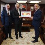 Image for the Tweet beginning: İzmir valimiz Sn. Erol AYYILDIZ'a