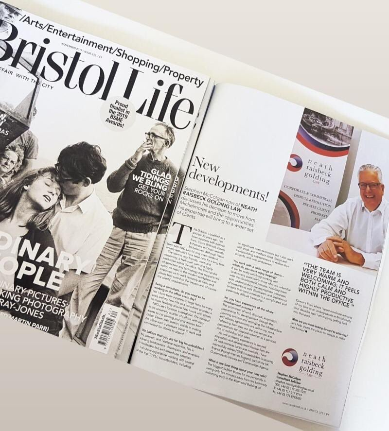 test Twitter Media - Make sure you check out the latest issue of #BristolLife magazine, to read all about Stephen McColgan who has recently joined the NRG Law family.   #NRGLaw #ThinkNRGLaw #Property #Commercial #CommercialProperty #PressRelease  #Bristol #BristolLawFirm #Clifton @TheMediaClash https://t.co/OTeYzHF9Z8