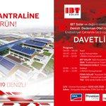 "Image for the Tweet beginning: Üyemiz IBT Solar, Denizli'de ""Endüstriyel"