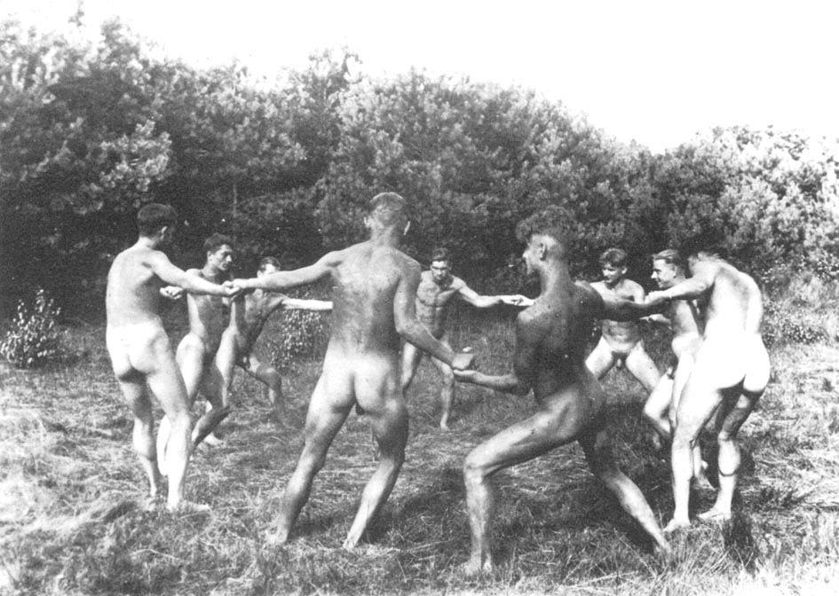 Nude male pagan rituals