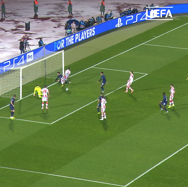 This goal is _______   Lo Celso gets off the mark for Tottenham in a unique way    #UCL |  @SpursOfficial