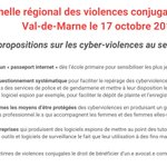 Image for the Tweet beginning: ✅Suite au Grenelle des #ViolencesConjugales