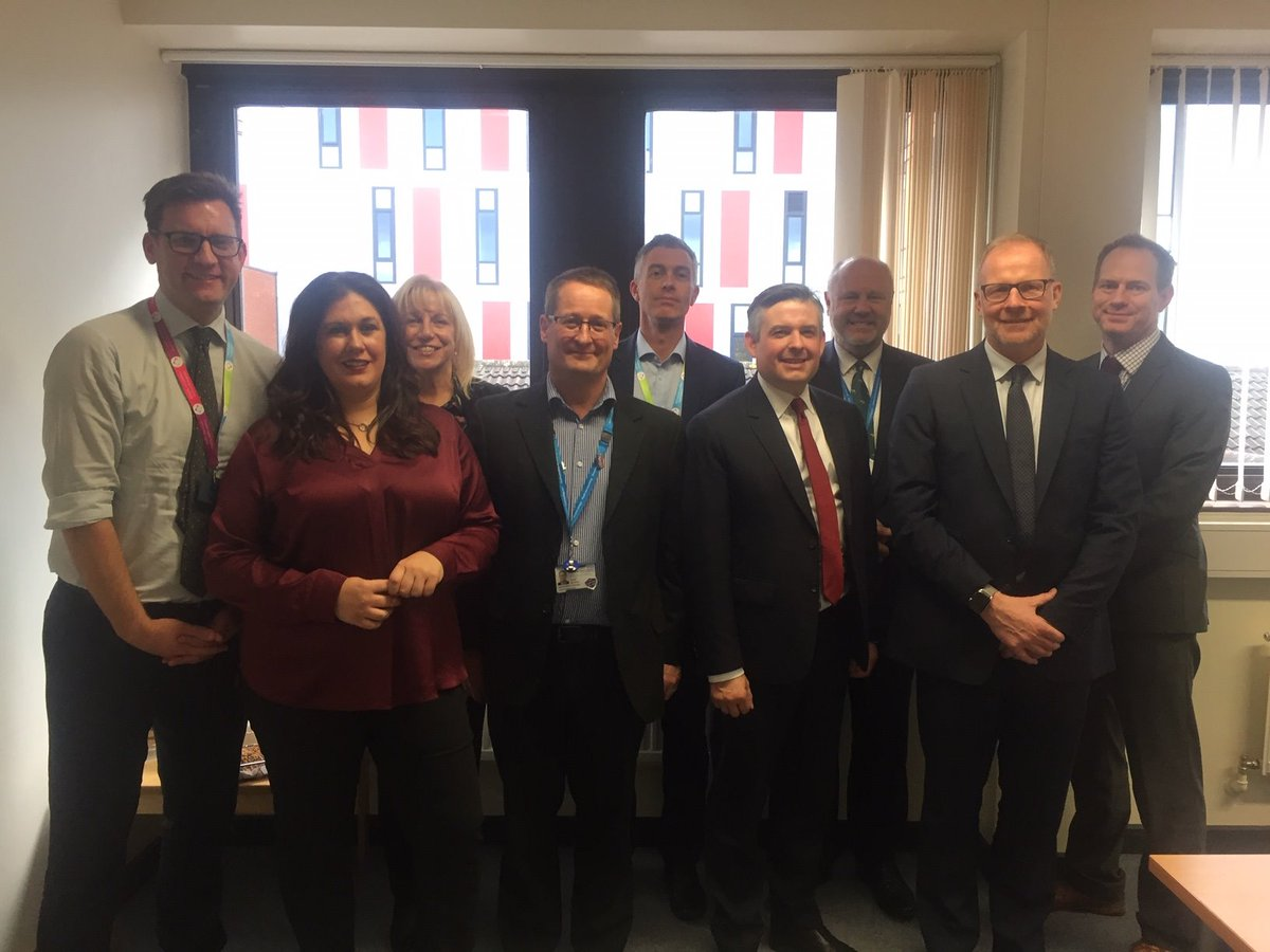 Thank you to everyone at #TeamSFH today who gave Shadow Secretary of State for Health, @JonAshworth and Labour Party candidate for Ashfield, @Nataliefleet, a typical SFH friendly welcome when they came to visit the Trust today.