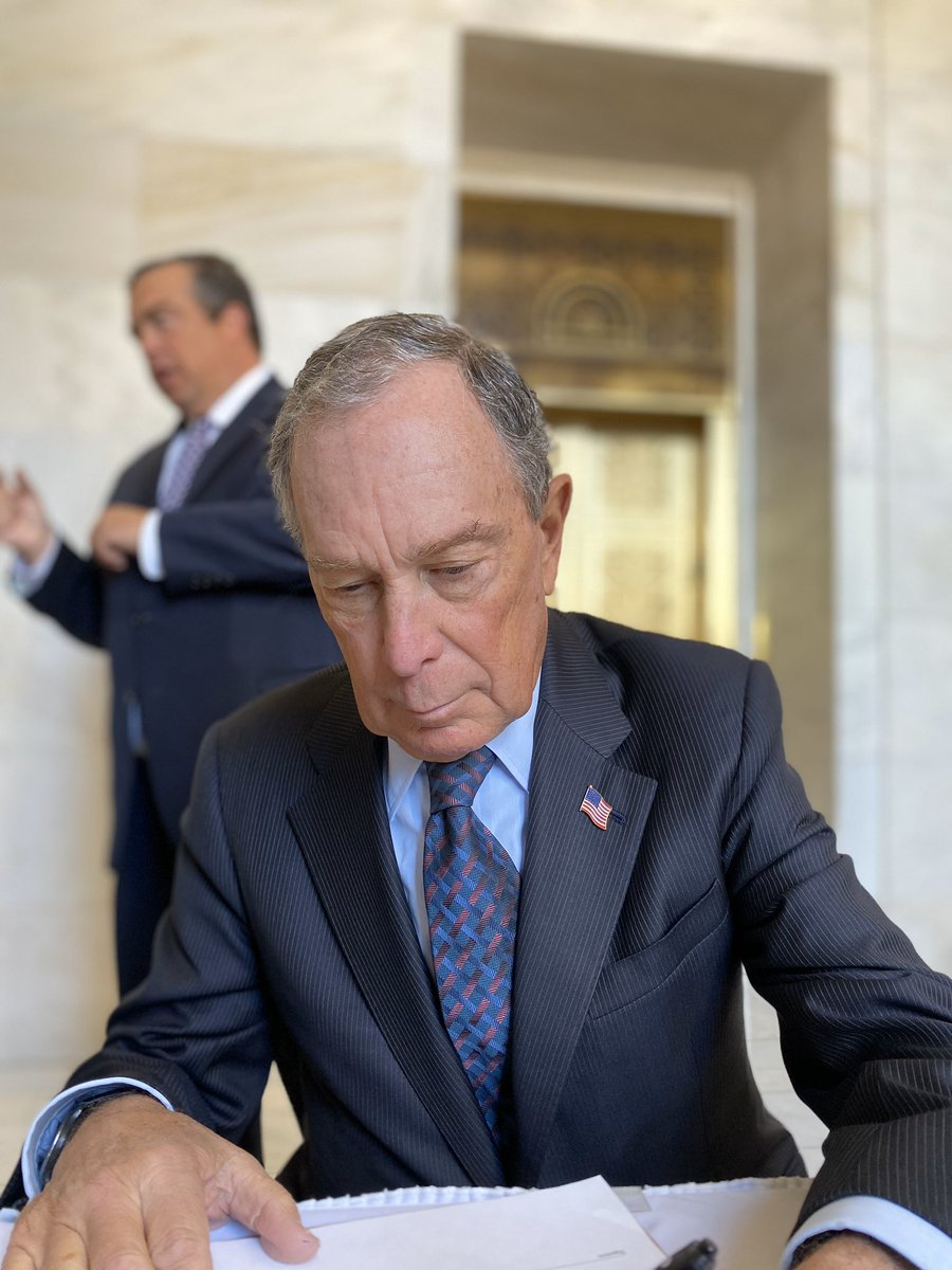 Can confirm Mayor @MikeBloomberg will be on the Arkansas Primary Ballot for U.S President