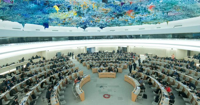 Draft working group : 111 delegations on 8 Nov. delivered their review and questions. #Iran was addressed by 329 recommendations that were presented & will examine and report back no later than 43rd session of HR Council. #UPR34 #UPRIran<br>http://pic.twitter.com/h7ZKWNBFed