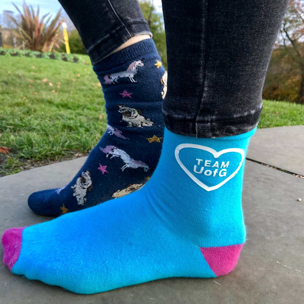 Rocking our odd socks with pride  and celebrating what makes everyone unique#OddSocksDay #AntiBullyingWeek #TeamUofG <br>http://pic.twitter.com/afWaKROKAF
