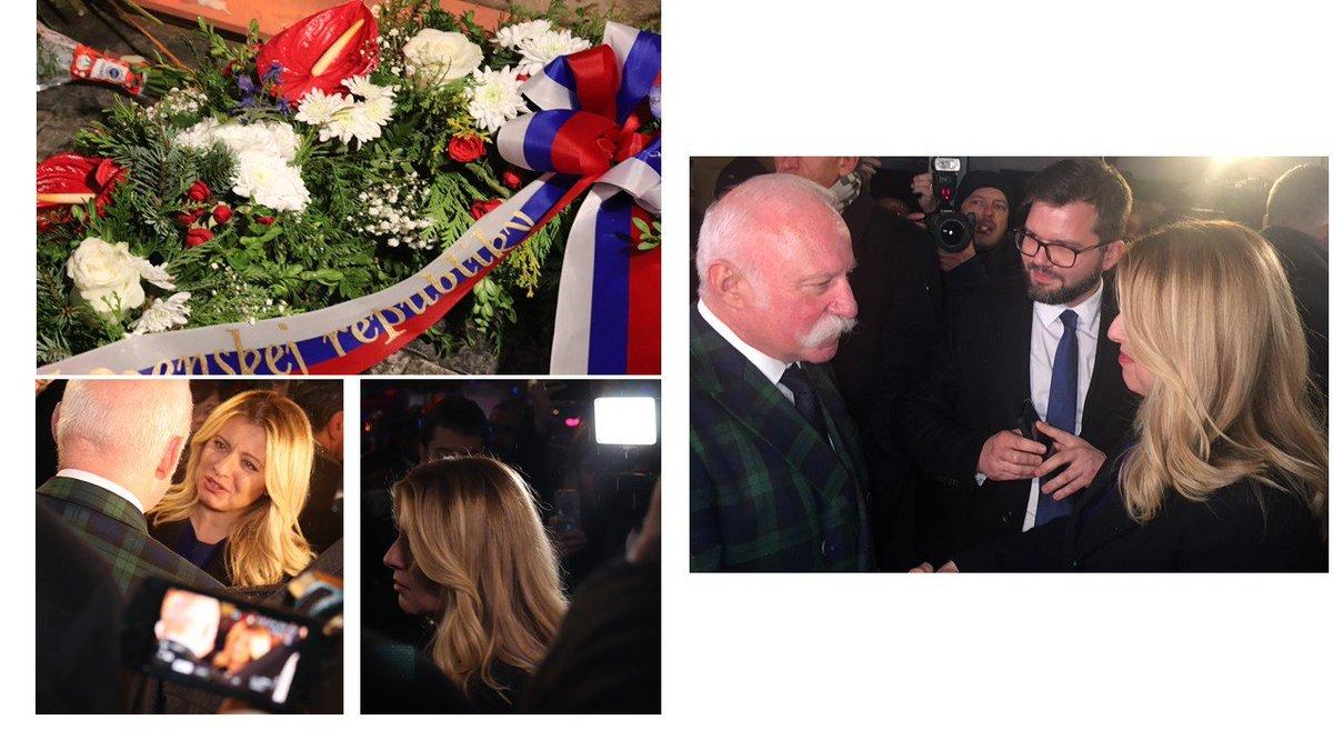 test Twitter Media - Prezidentka SR @ZuzanaCaputova  dnes vpodvečer uctila památku 17. listopadu 1989 u pomníku na Národní třídě. Prostřednictvím předsedy @CAK_cz  Vladimíra Jirouska, který ji u sídla ČAK uvítal, poslala vřelé pozdravy české advokacii. 🇸🇰🇨🇿 https://t.co/UdGnbAlquA