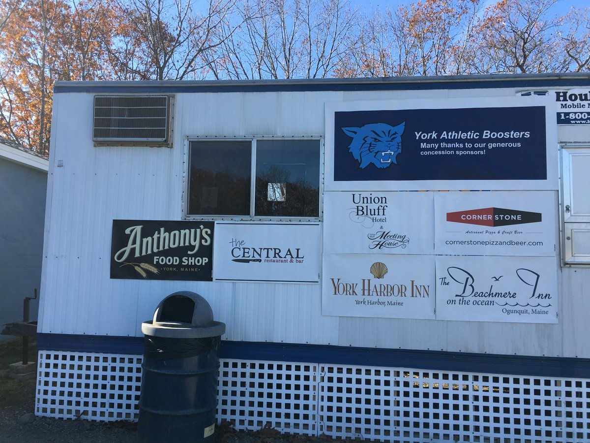 test Twitter Media - As we close our little concessions stand for the winter, we would like to thank the wonderful businesses who donate excellent food and help make concessions a huge success this season Anthonys, York Harbor Inn, Cornerstone, Union Bluff, Rubys, Beachmere, Central and York Rotary https://t.co/UeLfyIuxqy