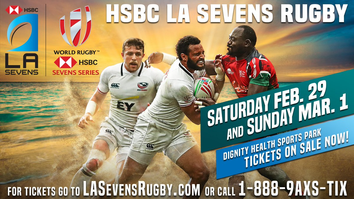Sunshine, shorelines and RUGBY! The @WorldRugby @HSBC Sevens Series returns in Los Angeles this year and tickets are on sale now. TICKETS » usarug.by/LASevens