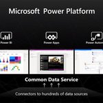 Image for the Tweet beginning: Microsoft's Power Platform gives IT