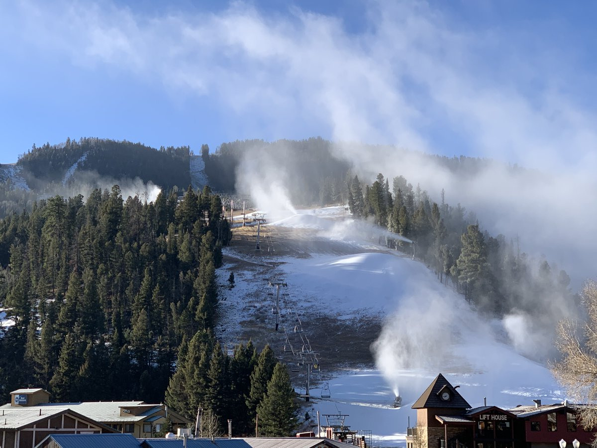 #NMTrue Little bit of snow making today! We'll be ready for opening day in no time! <br>http://pic.twitter.com/hYGeMZTTL9