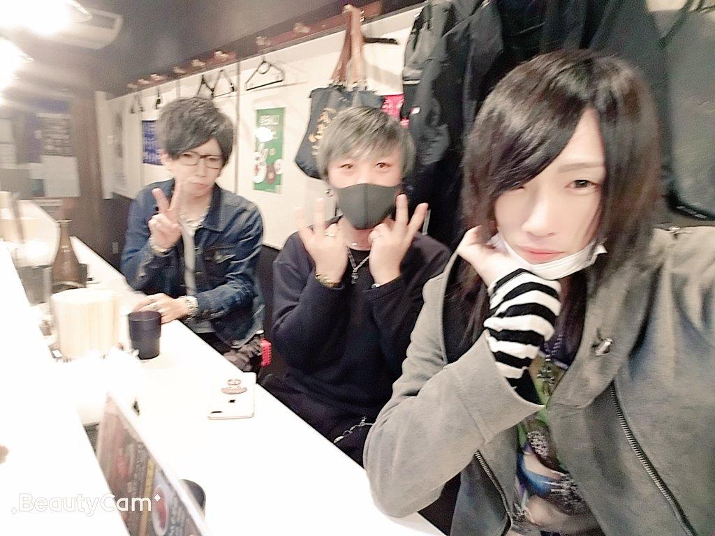チームでラーメン食べに来た(*Ü*)仲間って素敵(´・∀・`)ルフィ海賊団みたいな一味にしたいな(*¨*)
