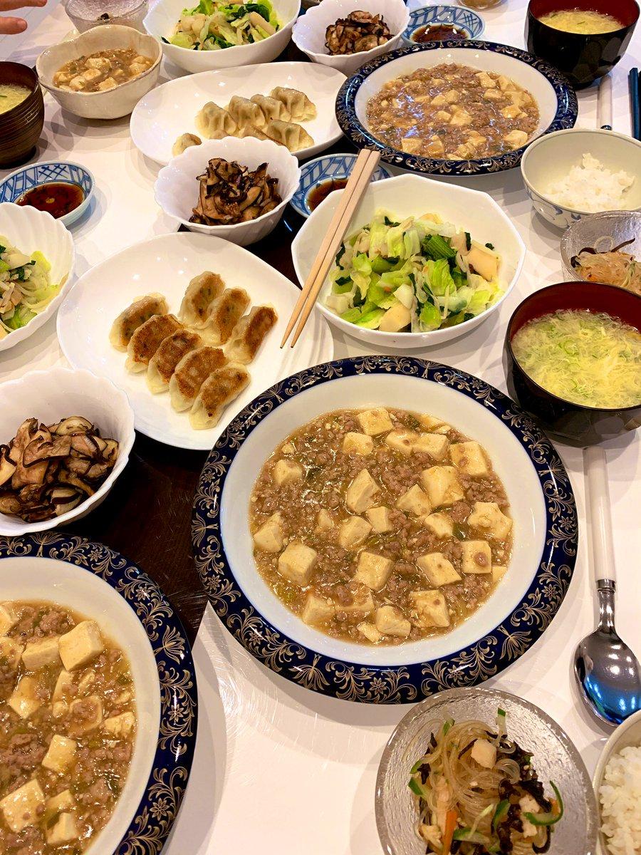 妹が入籍したのでお祝いパーティーしました。旦那さんが好きな中華系ごはん!からのケーキ!