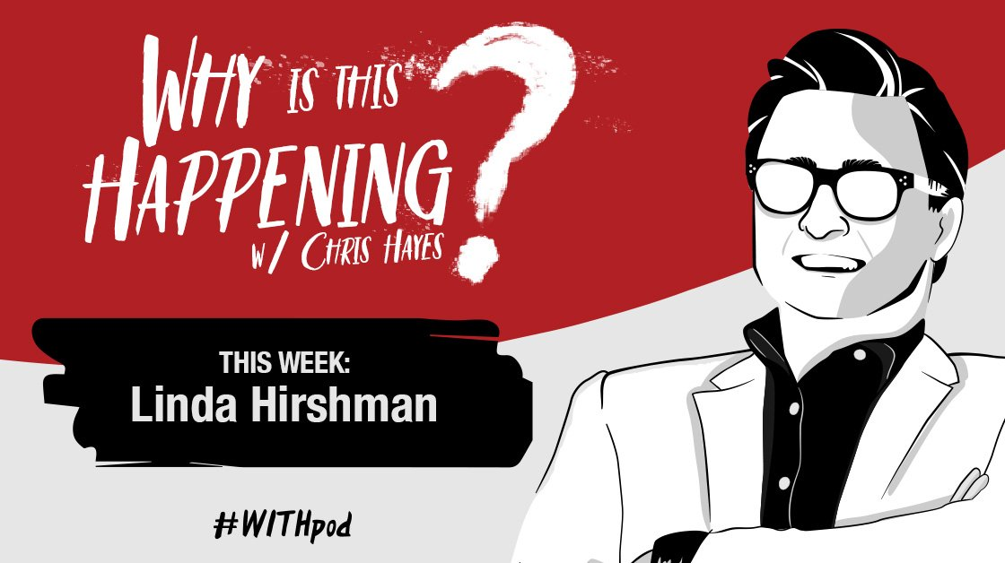 In this week's episode of #WITHPod, @chrislhayes speaks to author Linda Hirshman about her new book tracing 50 years of brave women, crucial court battles and social awakenings that preceded the #MeToo movement.  Listen: