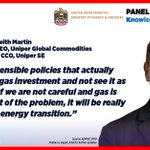 Image for the Tweet beginning: .@uniper_energy #ADIPEC2019   #EnergyTransition #gas