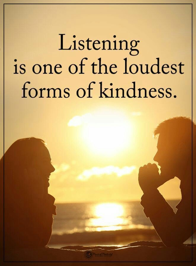 Every Single One of us has the Potential to Change Someones life by Just taking the time to LISTEN to them...!!! #Quote #Empathy #BeKind #Mindfulness #JoyTrain #TuesdayThoughts #kindness #MindfulListening