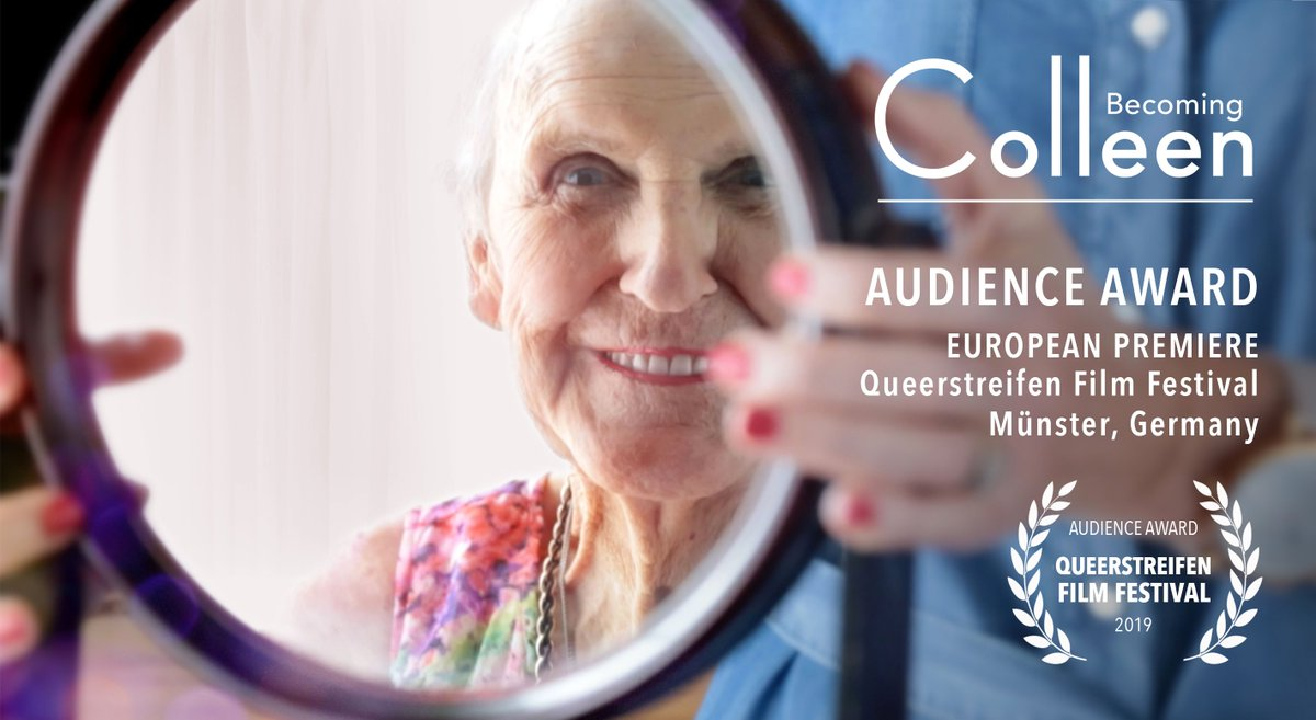 We are very proud to announce that at our European premiere at the Queerstreifen Film Festival in Münster, 'Becoming Colleen' has won the Audience Award. Next up: The Queer Film Festival Oldenburg on Sat the 30.11.19 at 18:15. For more info: http://www.qffol.de/programm/BecomingColleen.html…pic.twitter.com/VFG1BNoWXj
