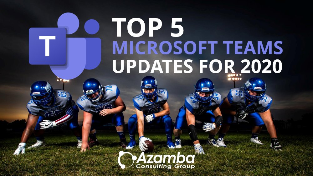 Our early picks for the 5 most exciting #MicrosoftTeams updates for 2019/2020 as announced at #MSInspire last week!http://ow.ly/C7rI50x1TPE #tech #business #collaborate #SMB #TechTuesday