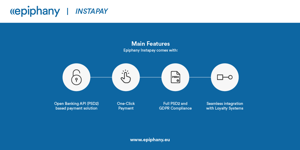 Epiphany's InstaPay is a proprietary Instant Payment solution that helps Banks accelerate their Open Banking transformation. Discover more > buff.ly/2K0Zu1S @Epiphany_Srl v @antgrasso @JoannMoretti #FinServ #OpenBanking #PSD2 #DigitalTransformation #EpiphanyInfluencer