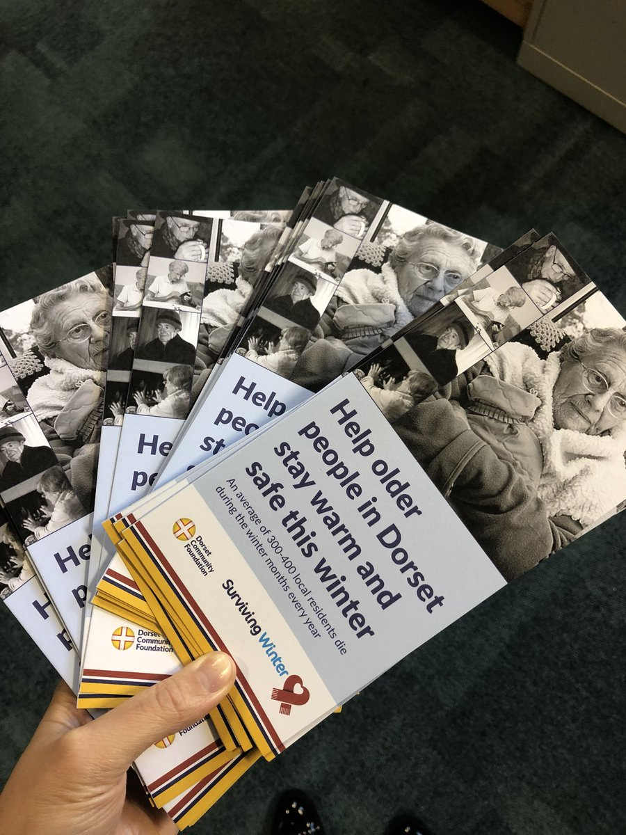 test Twitter Media - Thank you @RidgewaterEner1 for sponsoring the re-print of our #SurvivingWinter leaflets. We are launching the lifesaving campaign next week and these will be put to good use soon https://t.co/ypkNe4j5L8 https://t.co/NfRhGL8keK