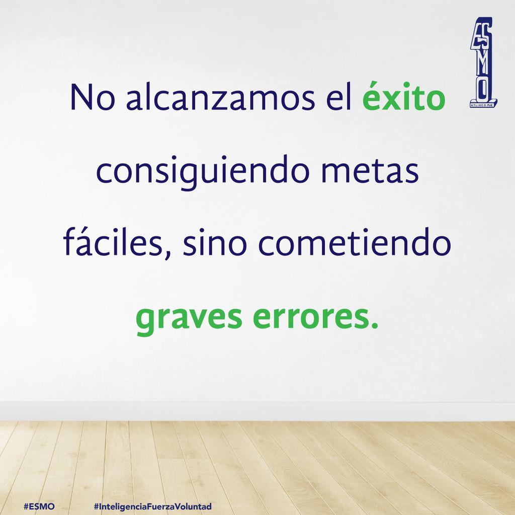 🙃 #FelizMartes a todos, prepárate para alcanzar el éxito 🏆  #ESMO #InteligenciaFuerzaVoluntad #Atlixco #Puebla #México #EducaciónBásica #AccionesPorLaEducación