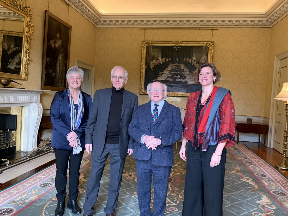 test Twitter Media - Amazing day with ⁦@PresidentIRL⁩ Michael Higgins talking about practical tools for sustainable and inclusive growth. https://t.co/21bT6uXBiY