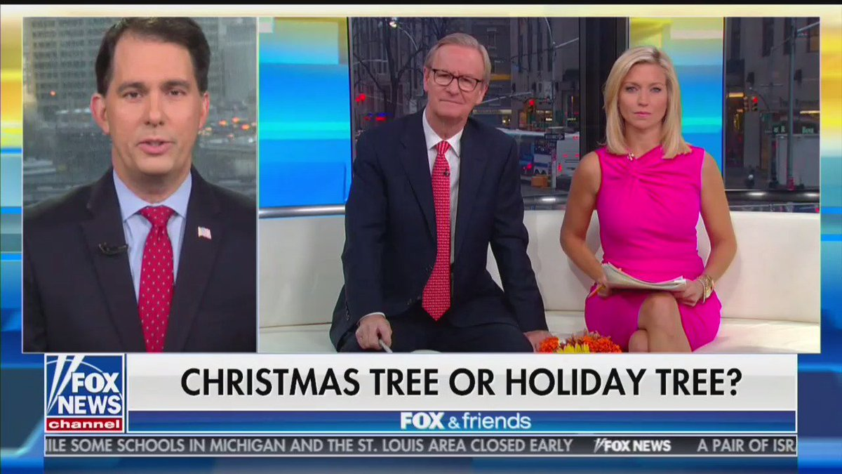 Fox & Friends is covering the defining controversy of our time