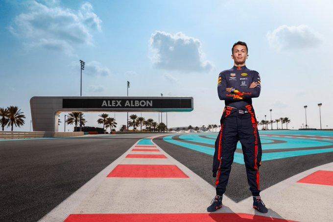 Congratulations to @alex_albon who will…