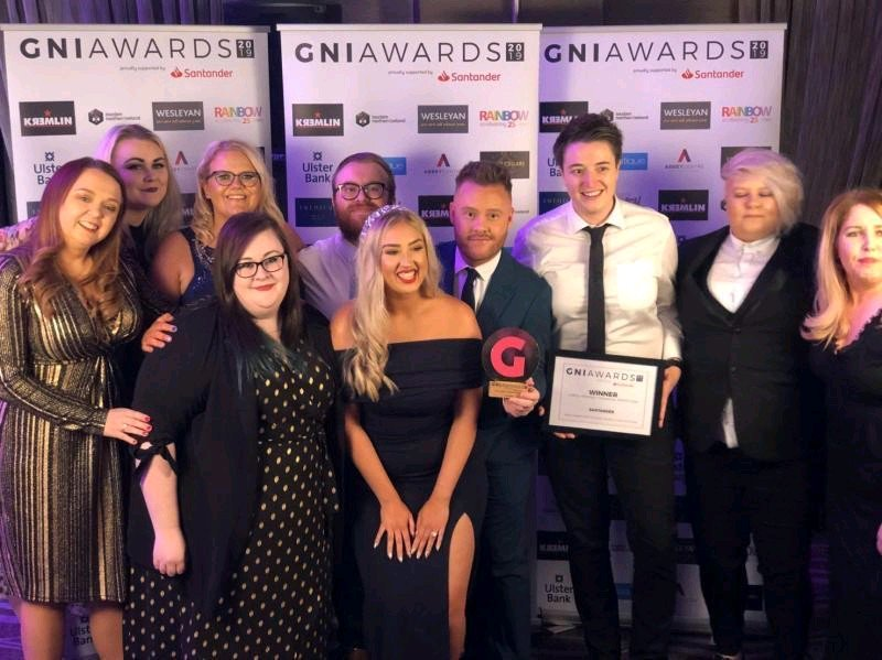 Fantastic to win #Gniawards LGBTQ+ Friendly Financial Institution for the 4th year running — the only organisation to ever achieve that! @gnimag